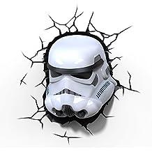 """La guerra de las Galaxias """"Storm Trooper"""" 3D LED luz"""