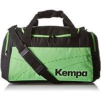 Kempa Teamline - Bolsa de Deportes Negro, Verde Talla:46 x 25 x 27 cm, 30 litros