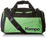 Kempa Teamline Sporttasche Tasche Schwarz/Fluo Grün 55 x 28 x 33 cm, 50 Liter