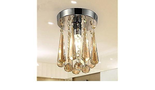 Mini Kristall Kronleuchter In Einer Glühbirne ~ Mini kronleuchter aus kristallglas moderne decke lampe für das