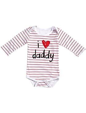 Domybest per 0–18mesi Boys Girls Baby Grow Vest Body tutina pagliaccetto neonato