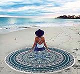 Indische Mandala Runde Tapisserie Zigeuner Yoga Matte Strand Tischdecke Beach Handtuch