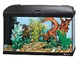 Ferplast 65016017W1 Aquarium Capri 60, Maße: 60 x 31,5 x 39.5 cm, 60 Liter, schwarz