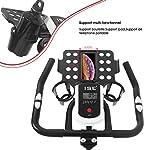 ISE-Spinning-Bike-Indoor-Cardio-Bici-da-Fit-con-Porta-TabletVolante-di-Inerzia-10-kgSalvaspazio-Silenzio-Fitness-Max-120-kg-SY-7804S