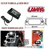 para SWM para Moto lámpara 90163 Universal bajo Consumo Impermeable Color BLE Alta luminosidad