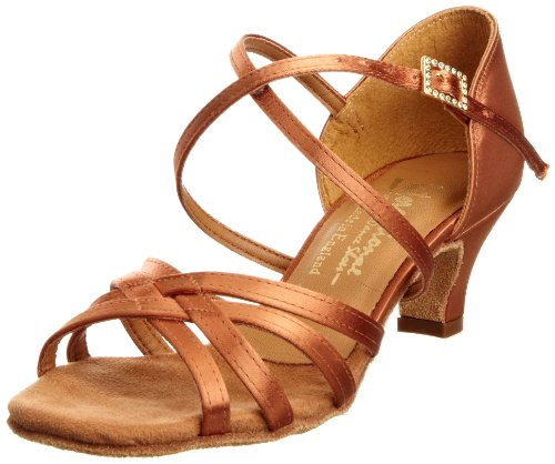 International Dance Shoes Cindy INUFT0627, Chaussures de danse fille Marron-TR-I3-53