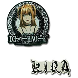 Death Note Misa y Kira Pin Metalico