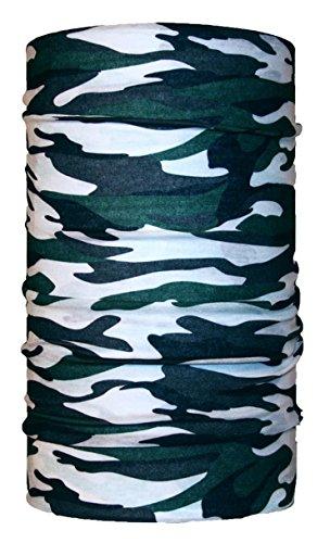 HeadLOOP Multifunktionstuch Camouflage Schnee Wald Tarn Loop Schlauchtuch Schal Halstuch Kopftuch Microfaser