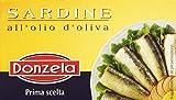 Donzela - Sardine, All'Olio d'Oliva - 10 pezzi da 125 g [1250 g]