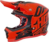 Shot Furious Venom Kinder Crosshelm Orange/Schwarz Y/L (53/54)