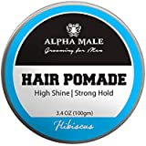 Alpha Male Grooming For Menhair Pomade Hibiscus Hair Styler