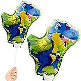 Folienballon * DINO * als Deko, Mitgebsel oder Geschenk für einen Dinosaurier Kindergeburtstag oder T-Rex Mottoparty