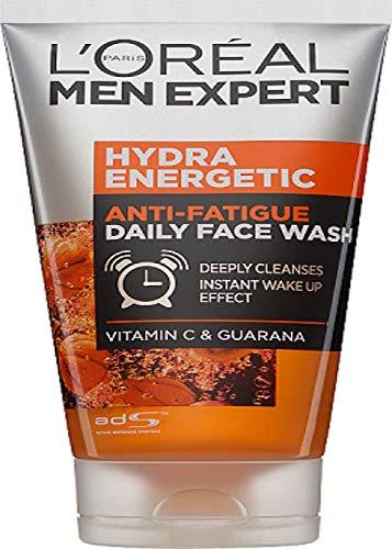 L\'Oreal Men Expert Hydra Energy Erfrischendes Reinigungsgel, Aufwach-Kick, 150 ml