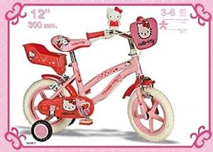 VELO HELLO KITTY 12 POUCES DISNEY ENFANT FILLE 3 4 5 6 ANS NEUF