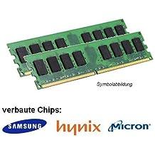 Memoria RAM DDR2 Samsung (PC2 6400U, 2 x 2GB, 800MHz, LO-DIMM, Samsung, Hynix o Micron)