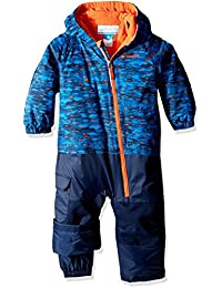 Columbia Kid 's Little Dude trajes – Super Blue Print, talla 12/18
