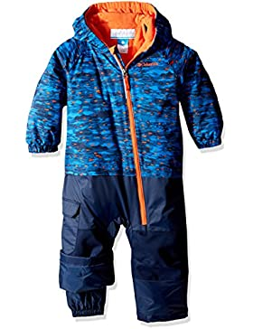 Columbia Kid 's Little Dude trajes–Super Blue Print, talla 3/6