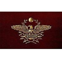 joizo Senate Of Populusque Romanus Roman Empire Banner Decorative Flag With Two Brass Eyelets (3 X 5 Ft)