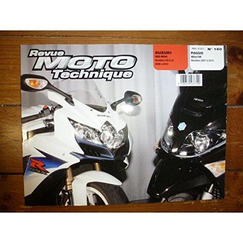 Ré-édition - XEvo 125 GSXR600 Revue Technique moto Piaggio Suzuki Etat - Bon Etat