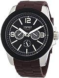 Esprit Herren-Armbanduhr XL 304 Stainless Steel Analog Quarz Plastik