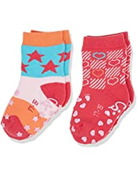 Sterntaler Baby-Mädchen Socken Abs-Krabbelsöckchen Dp Sterne 2er Pack