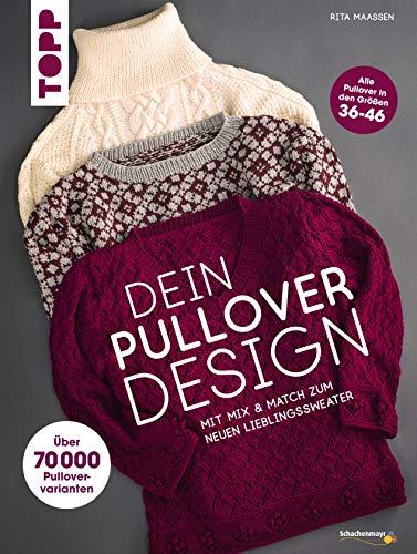 Dein Pullover-Design: Mit Mix & Match den neuen Lieblingssweater stricken Design Poncho