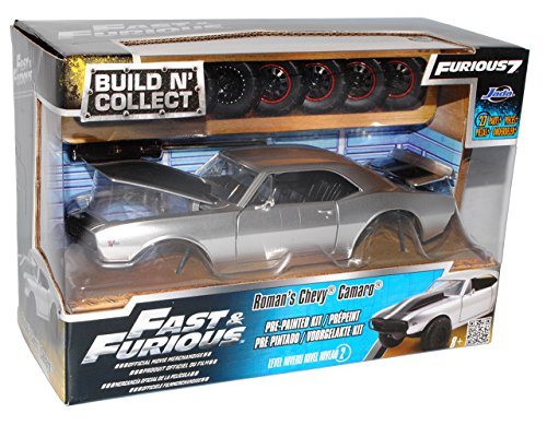 Chevrolet Camaro Roman Silber The fast and the Furious Kit Bausatz 1/24 Jada Modell Auto