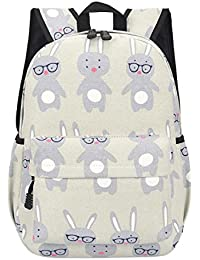 Cute Women School Backpack Ship Animal Pattern Prenteng Large Capacity Canvas Travel Girls College Bookbag Rucksack