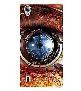 Fuson Designer Back Case Cover for Vivo Y15S :: Vivo Y15 (Lens Camera Lens Mobile Camera Mechanical Camera)