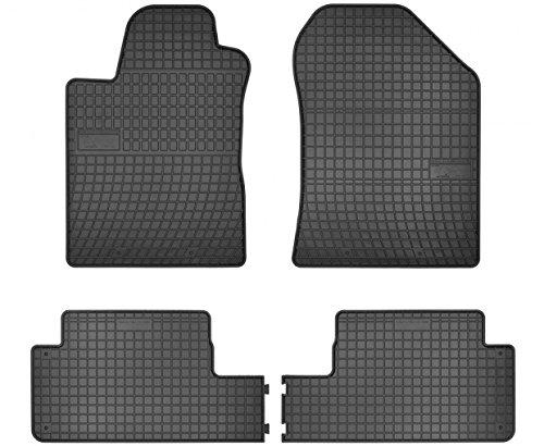 Passgenaue Gummifußmatten FROGUM - ein SET 4-Teile Vanille KO-FRO-546269-474 (2004 Toyota Corolla Fußmatten)