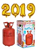 Party Factory Ballongas Helium 250 Liter im Set mit Folienballon 2019