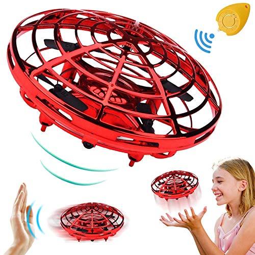 TURNMEON Mini UFO Drones pour Enfants Débutant RC Hélicoptères Quadcopter Drone de Poche...