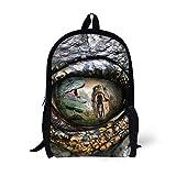 hugsidea dinosaurio mochila para bebés de los niños novedad niño escuela bolsa de hombro Bookbag