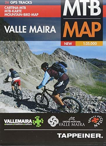 Valle Maira. Mountain-bike-map 1:35.000