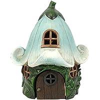 Guirnalda de casa casa de hadas para jardines de hadas–Hada Flor casa