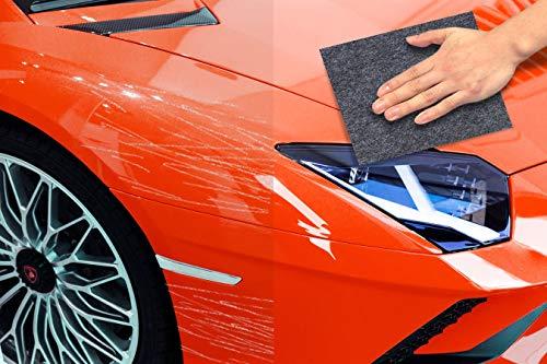 Bamoer Reparador de arañazos para Coche, para reparación de arañazos, Cuidado de la Pintura, Pulido y reparación de arañazos de Pintura para Reparar arañazos en el Coche, para Todo Tipo de Coches