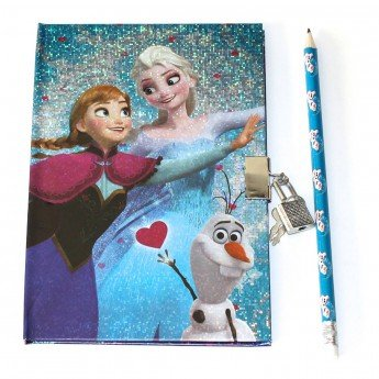 Diario secreto + lapicero Frozen Disney