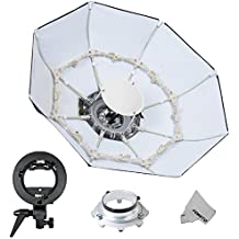 Fomito Foldable Beauty Dish Soft Box con Bowens Mount Interior Blanco (Diámetro: 39/100 cm)
