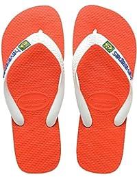 Havaianas Brasil Logo, Sandales Bout ouvert mixte adulte