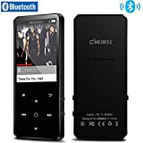 CCHKFEI 16GB Bluetooth 4.0 MP3 Player with 2.4 Inch Color Screen,Lossless Metal Music