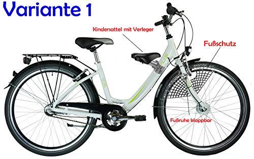 M-Wave Kindersitz Vorn, STVZO, DDR Zeiten, kompl. (Variante 1) Damenrad große Schelle