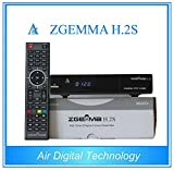 Zgemma H 2s Twin Tuner Satellite Receiver, with full 7day EPG and IPTV function