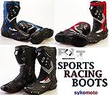 Bolt S12RX2Bottes de moto étanches pour homme, bottes de protection pour la course en moto XXS noir