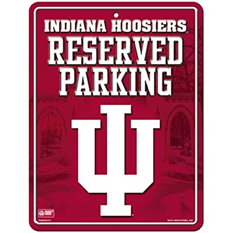 NCAA Indiana Hoosiers Parking Sign