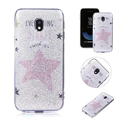QianYang Schutzhülle für Samsung Galaxy J5 Pro 2017 J530, Silikon, Transparent (Samsung Tablet Zum Verkauf)