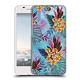 Head Case Designs Plumeria Tropische Marmor Drucke Ruckseite Hülle für HTC One A9