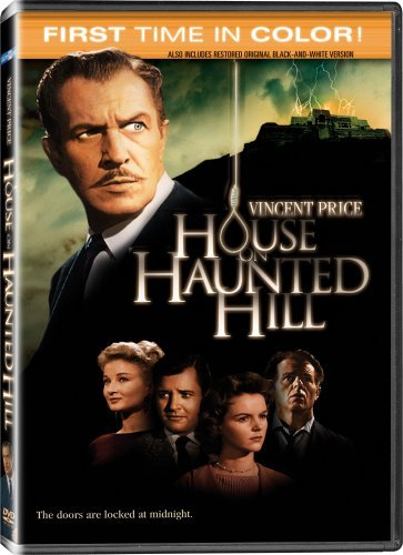 House on Haunted Hill (Colorized / Black & White) by Vincent Price (House Of Haunted Hill)