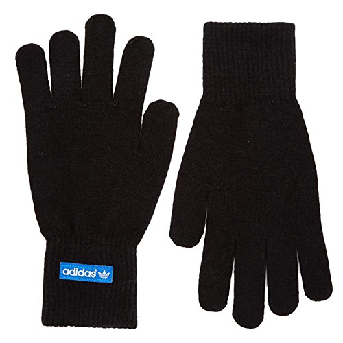adidas Herren Handschuhe  Gr. X-Small, Black - Black/Bluebird