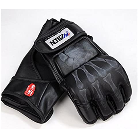 A menudo Sparring guantes de entrenamiento de MMA Grappling Guantes de deportes de lucha Saco de arena Guantes de