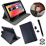'Genuine Leather Case for 7 inch Kindle Fire HD 7 WIFI 7.8 Leather with Stand Function - Black
